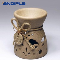 Vintage Ceramic Crafts Incense Burners Essential Oil Aroma Burners Candle Aromatherapy Lamp Bedroom Desktop Ornaments Home Decor