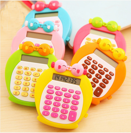 South Korea kiss fish cute cartoon mini student pocket font b calculator b font 4 color
