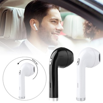 180 degrees Rotation I8TWS Wireless Earbuds Mini Bluetooth Stereo Headset With Charge Box Earphone