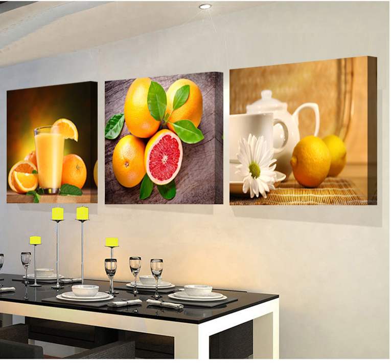 Fruit Wall Decor compare prices on fruit canvas art- online shopping/buy low price