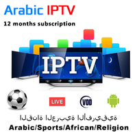 12 Months Arabic IPTV Subscription With African Iraq Kurdish Pakistan Farsi Religion Magherb Channels For Android TV Box