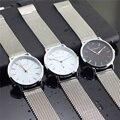 A prueba de agua Reloj Para Hombre de Acero Inoxidable Relojes de Cuarzo Relogio masculino X2 EL DUODÉCIMO Cuarzo Reloj Militar Hombres Reloj Montre