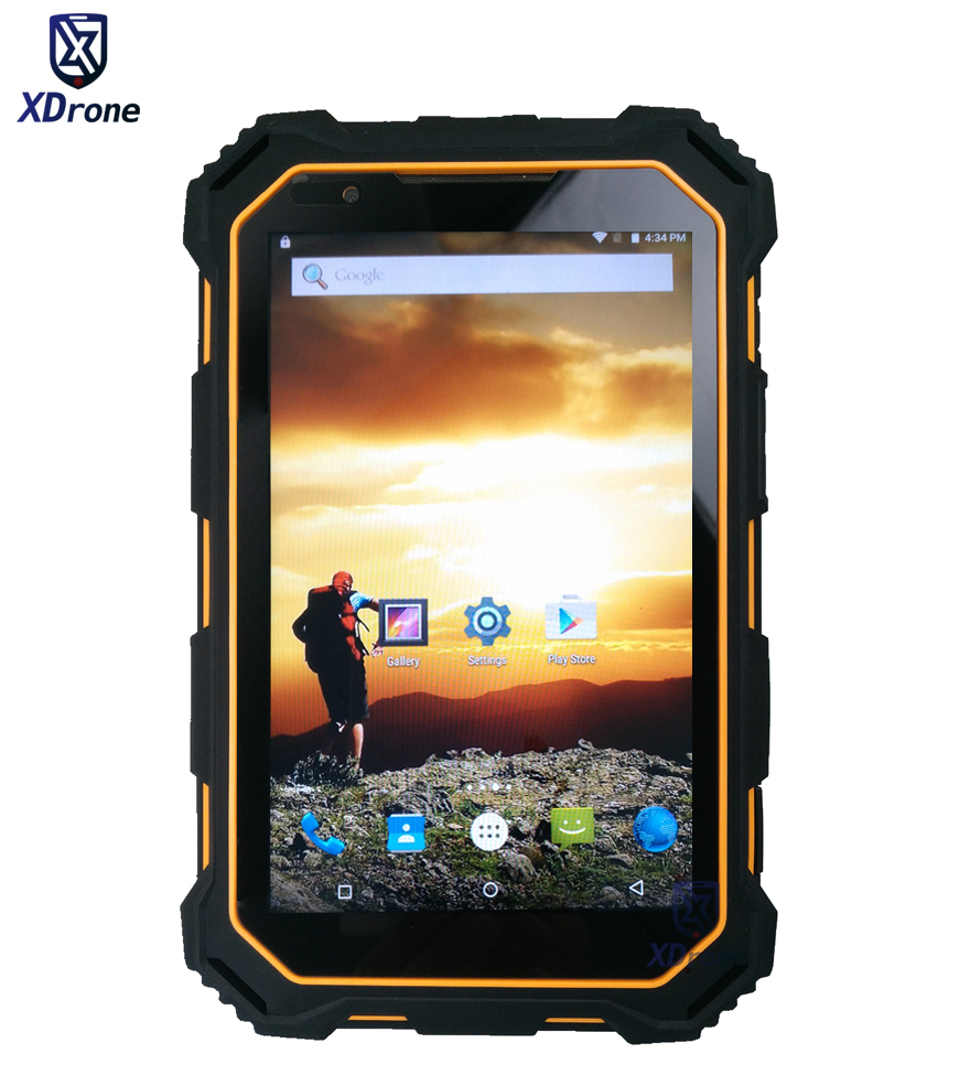 2018 Original Android Rugged Tablet PC IP68 Waterproof Smartphone Shockproof MTK6735 Quad Core 2GB RAM 13.0MP 4G LTE FDD NFC GPS