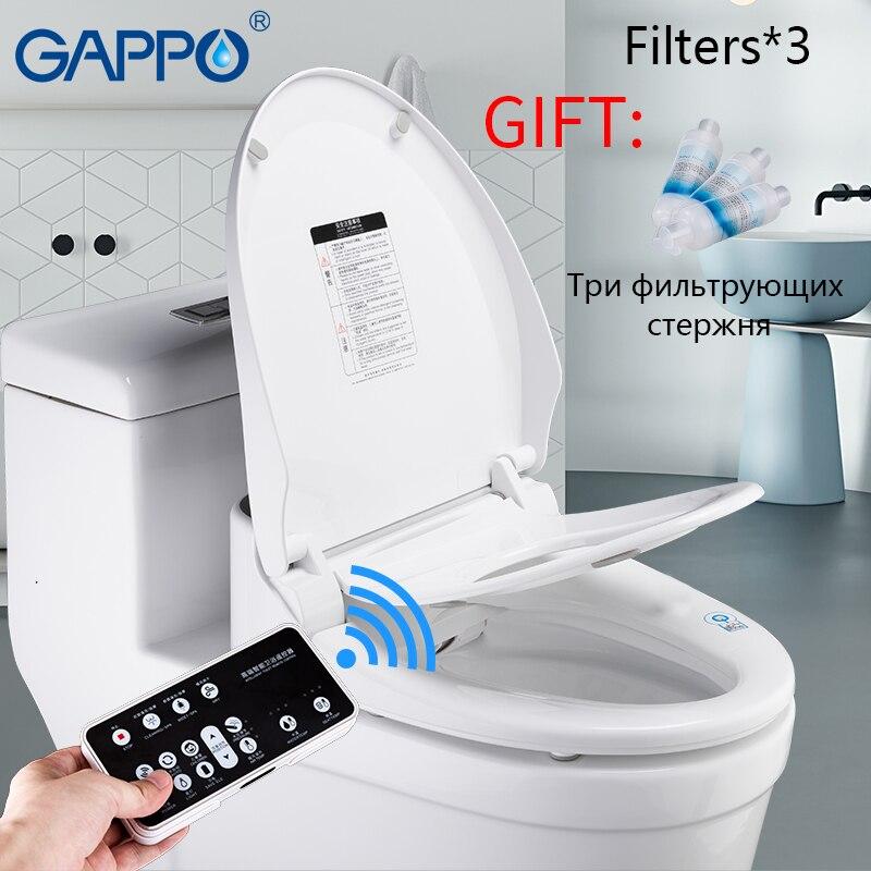 GAPPO 220V Smart siège de toilette bidets électriques intelligent couverture de siège de toilette smart toilette Massage soin pour enfant femme le vieux