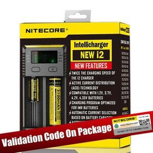 Image 4 - Nitecore D4 D2 جديد I4 I2 Digicharger LCD ذكي الدوائر العالمية التأمين ليثيوم أيون 18650 14500 16340 26650 شاحن بطارية