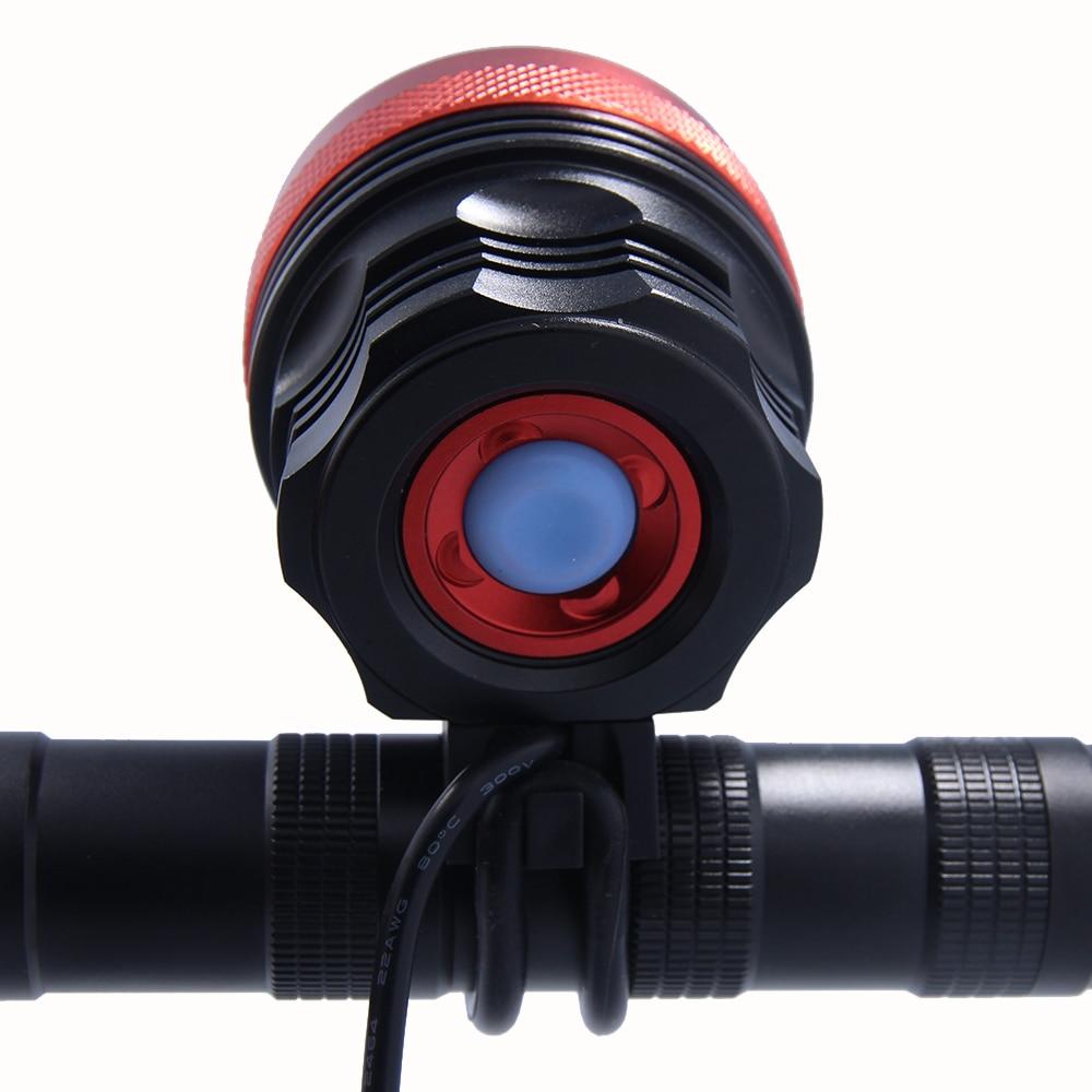 Walkfire 12000lumen 8x XML T6 LED Taschenlampe Fahrrad Licht Lampe - Radfahren - Foto 3