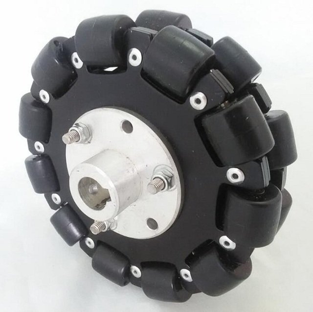 127mm Plataforma Chassis Robô Roda Direcional Omni