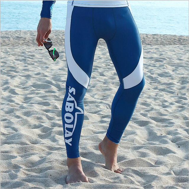 3c2d58b41598f SABOLAY Men Surfing Swimwear Surfiing Shorts Tights Sports Leggings Wetsuit  Radition Preventation Diving Long Snorkeling Pants