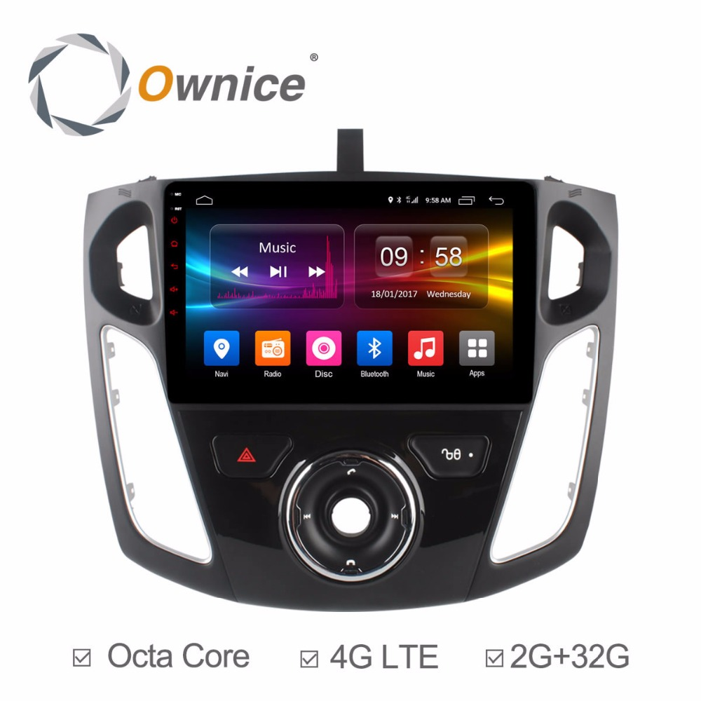 for Ford Focus 2012 2013 2014 2015 Manual AC Android Radio DVD font b MultiMedia b
