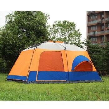 Carpa Para Acampar | 2019 A La Venta 6 8 10 12 Personas 2 Dormitorio 1 Salón Toldo Refugio Para El Sol Fiesta Familiar Senderismo Playa Pesca Tienda De Campaña Al Aire Libre