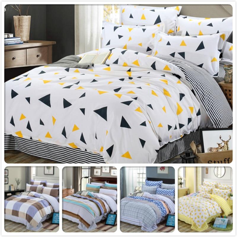 2018 New Creative Bed Linen Cotton 3/4 pcs Bedding Set Single Twin Queen King Full Size Duvet Cover 1.5m 1.8m 2m 2.3m Bedclothes