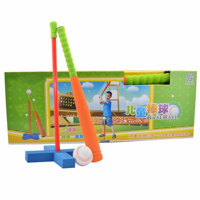 Niños De Espuma Juego de Béisbol Conjunto de Juguete para Niños de Más de 3 Años de Edad-Color Al Azar