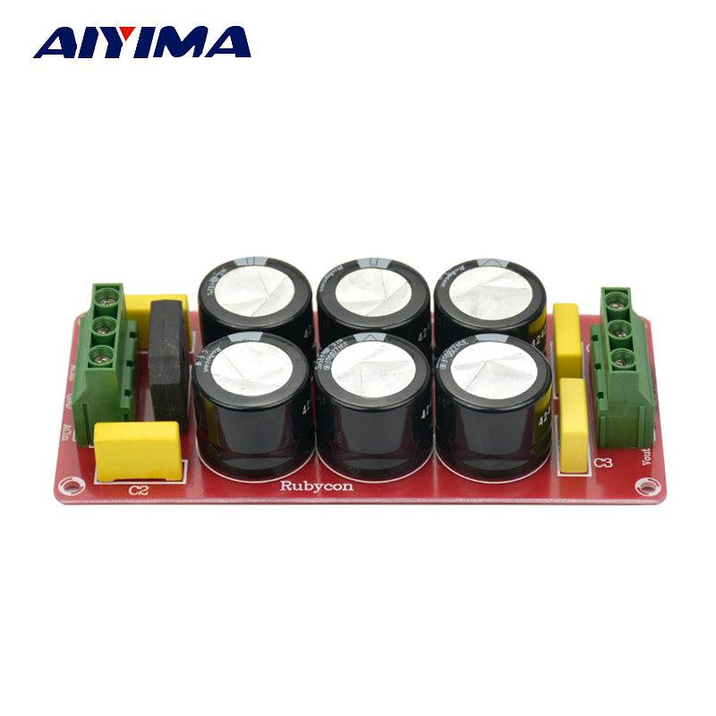 Dual Power Rectifier Filter Fever Capacitor Filter Positive And Negative Power Amplifier Board Audio Rectifier Power Supply power rectifier filter plate rectifier dual ac power transfer monophyletic dc output power amplifier