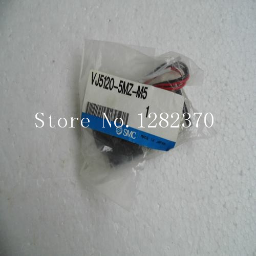 [SA] New Japan genuine original SMC solenoid valve VJ5120-5MZ-M5 spot --2PCS/LOT купить