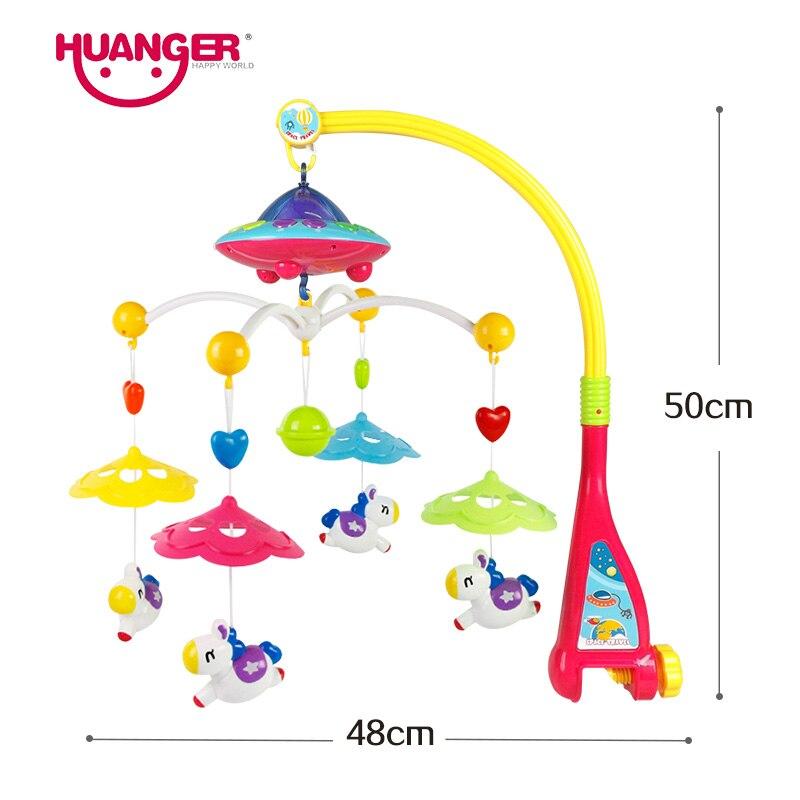 Baby Chocalhos e Mobiles projetando brinquedos para 0-12 meses Marca : Huanger
