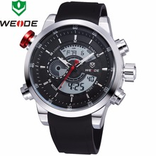 2018 New Luxury Brand WEIDE Mens Quartz Digital Led Watches Men Casual Sports Clock Military Wrist watches Relogio Masculino