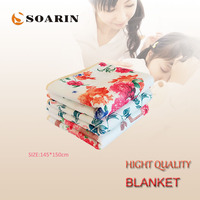 SOARIN Electric Mattress 140X145cm Electric Heated Blanket 220v Electric Heating Blanket Double Body Warmer Blanket Heater Pat