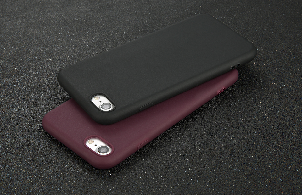 Candy Color Back Cover Case For iPhone 8