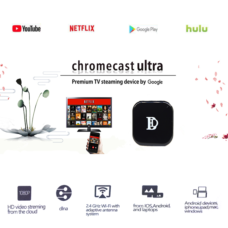 2019 1080 P tv stick x7 WiFi hdmi dongle RK3036 puce soutien AirPlay/dlna/miracast/chrom, netfliex, youtube, muti-écran