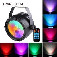 Led Disco Par Light RGB UV Party Lights DMX DJ Stage Lamp Remote Voice Control Home Bar Stroboscope Laser Projector Disco Lights