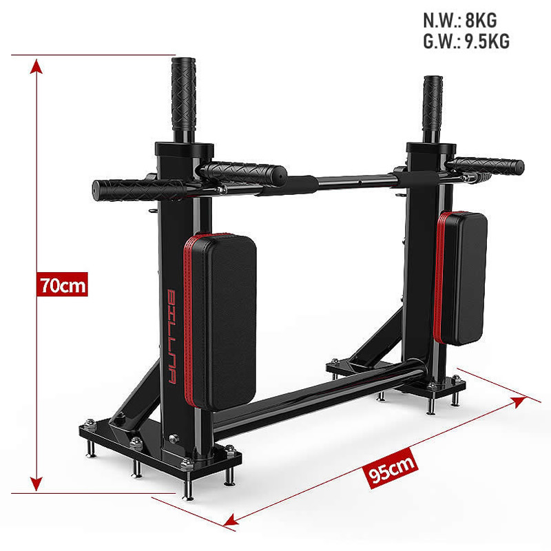 Home GYM Wand Montiert Pull Up Chin Up Bar Innen Horizontale Bar Power Training Muskelkraft Training Fitness Ausrüstung - 5