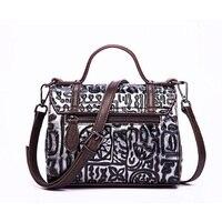2019 New Fashion Genuine Leather female Handbag Vintage Embossed Shoulder Bag Pillow S Cow Boston sac a main