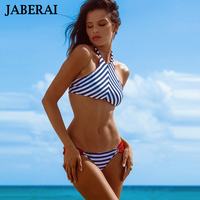 2016 New Brazilian High Neck Bikini Set Women Reversible Swimwear Sexy Strappy Swimsuit Seamless Bathing Suit