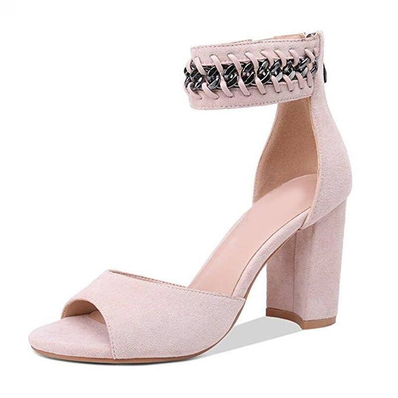 Tobillo Tacones Zapatos Caliente De Sandalias Mujer Fiesta 43 Altos q4Z66P 5c42ebcde3c0