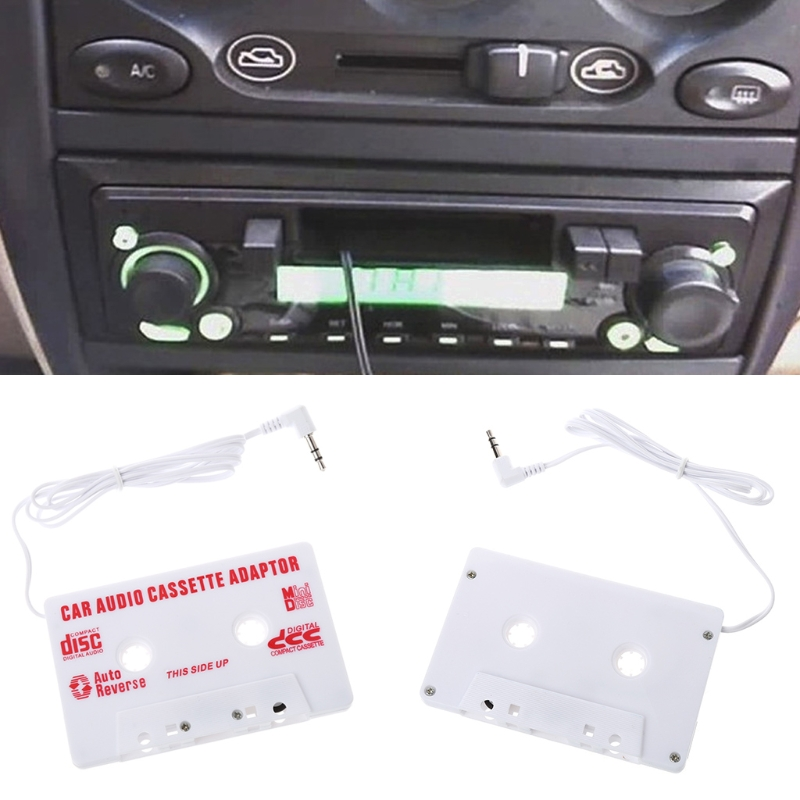 Car-styling AUTO Universal Car Cassette Tape Audio Adapter Stereo Converter For Iphone Ipod MP3 AUX CD 3.5 MM