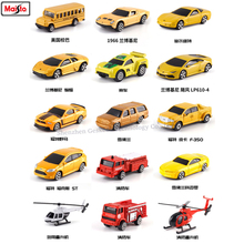 Maisto 1:64 Car model 15 styles Challenger manufacturer authorized simulation alloy car crafts decoration collection toy