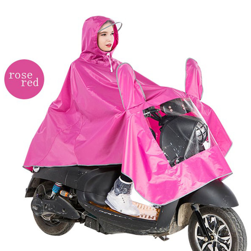 Yuding Polyester Motorcycle Raincoat Motor Cycle Rain Coat Electrombile Women 39 s Raincoat Waterproof Rain Poncho Men Windbreaker in Raincoats from Home amp Garden