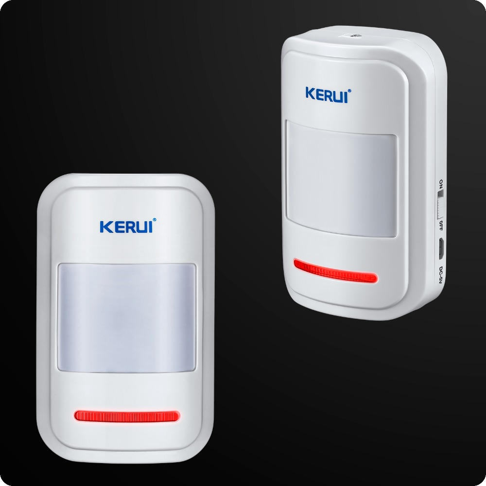 Image 3 - Wholesales KERUI W2 Wifi GSM PSTN Telephone Landline Home Alarm APP ISO 433MHz TFT Golor Screen RFID Disarm Arm Security Kit-in Alarm System Kits from Security & Protection