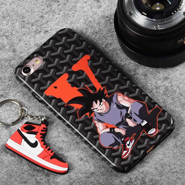 big sale b365d 4bba5 ... Hot Air Jordan Dragon Ball Super Z Son Goku soft silicon cover phone  case for iphone ...