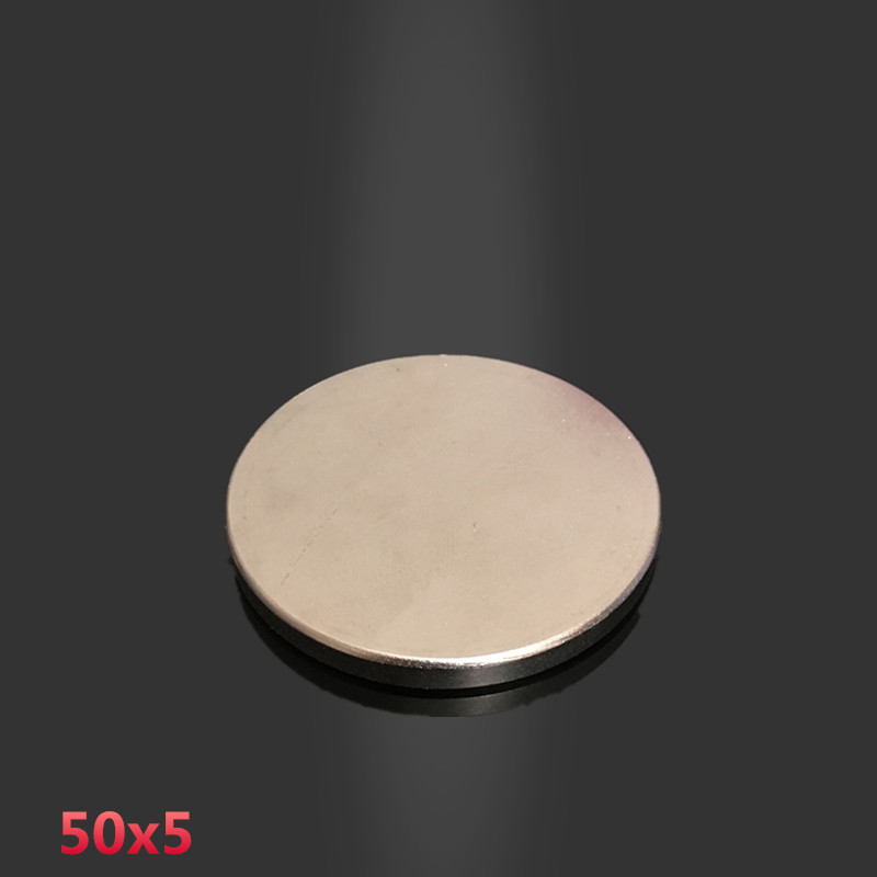 1pc 50x5 mm neodymium magnet 50mm*5mm strong rare earth neodymium magnets 50*5 mm NdFeB permanent round magnetic 50x5mm arrival 8pc 50 25 12 5mm craft model powerful strong rare earth ndfeb magnet neo neodymium n50 magnets 50 x 25 12 5 mm