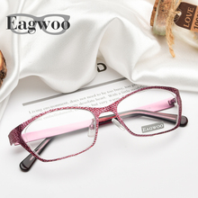 Women Designed Eyeglasses Prescription Optical Frame Super Light Spectacle Cat Eye Vintage Style Fashion Glasses 9156