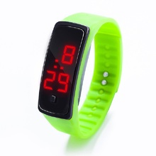 Kids Watches Cute Boys Girls Children LED Sports Watch Timekeeper Digital Silicone Wrist Watches Student School Multicolor Clock ohsen kids watches children digital led fashion sports watch cute boys girls waterproof wrist watches gift watch alarm men clock