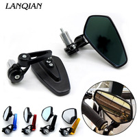 Universal Motorcycle Handlebar Rear View Side Mirror Rearview Mirrors For BMW K1200R K1300 S/R/GT SPORT K1200S K1300R
