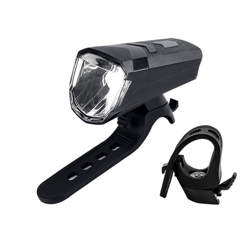 LED USB Rechargeable Cycling Bicycle Bike Head Front Light Lamp Rear Tail Light Fit Handlebar 20-40mm Lamp for Outdoor Riding P4 santic men s cycling hooded jerseys rainproof waterproof bicycle bike rain coat raincoat with removable hat for outdoor riding