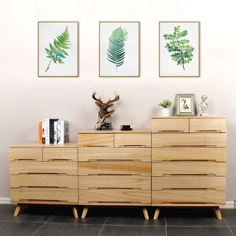 Living Room Cabinets Solid wood side cabinet Nordic storage cabinet muebles de sala cassettiera meuble rangement Home FurnitureLiving Room Cabinets Solid wood side cabinet Nordic storage cabinet muebles de sala cassettiera meuble rangement Home Furniture