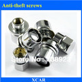 Free shipping!4pcs Car tires Anti-theft screws For Toyota VIOS Camry RAV4