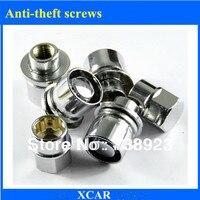 Free shipping!4pcs Car tires Anti theft screws For Toyota VIOS Camry RAV4