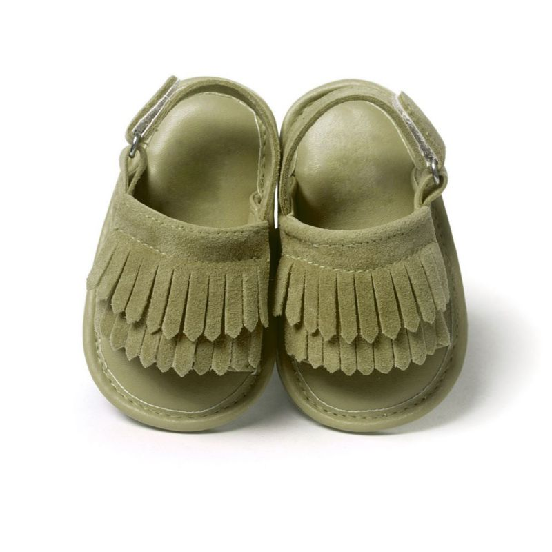 Baby Girls Sandals Summer Leisure Fashion Baby Sandals PU Tassel Shoes