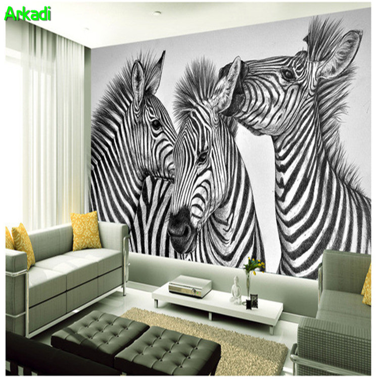 3D Hand Painted Pencil Painting Abstract Art Personality