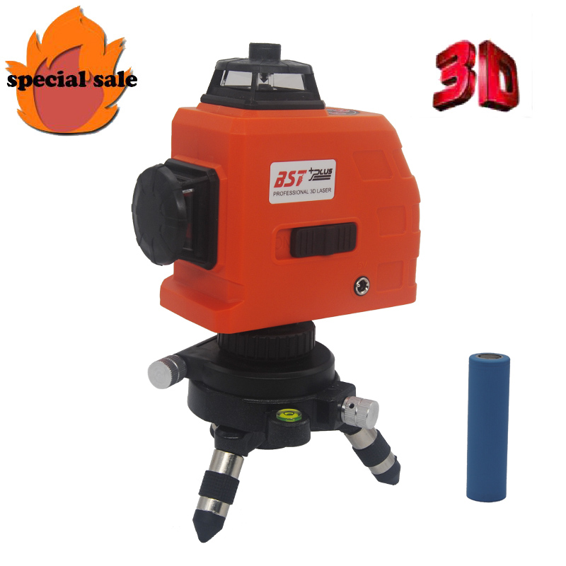 3D 12Lines Laser Level Self-Leveling 360 Horizontal And Vertical Cross Super Powerful Red Laser Beam line  Free shipping!3D 12Lines Laser Level Self-Leveling 360 Horizontal And Vertical Cross Super Powerful Red Laser Beam line  Free shipping!