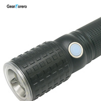 6000 Lumens CREE XM T6 Rotary Focusing 3Modes LED Flashlight Tactical Lantern Waterproof Torch Camping Flash