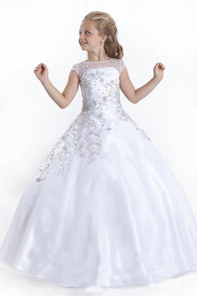Popular Girls Long Pageant Dresses-Buy Cheap Girls Long Pageant ...