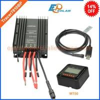 12 В 24 В tracer7810bp Бесплатная доставка EPSolar солнечной энергии банк контроллер USB кабель + mt50 метр 30A 30amp