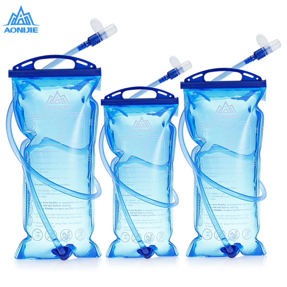 AONIJIE Outdoor Hydration Backpack Tactical Water Bag Bottle Camelback For Hiking Hunting With Detachable Drinking Tube 1.5/2/3LAONIJIE Outdoor Hydration Backpack Tactical Water Bag Bottle Camelback For Hiking Hunting With Detachable Drinking Tube 1.5/2/3L