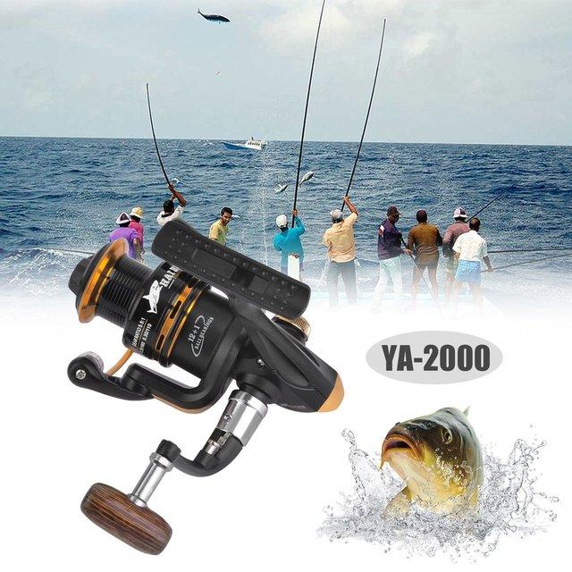 Fishing Spinning Reel 12+1 Bearing Balls Spinning reel Super Strong fishing reel 5.5:1 Carp Fishing Spinner For Fishing Dropship