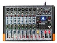 STARAUDIO SMX-8000B Pro DJ Sahne 8 CH 3000 W Amplifikatör Powered MP3 Bluetooth USB SD Mikser Karıştırma Konsolu
